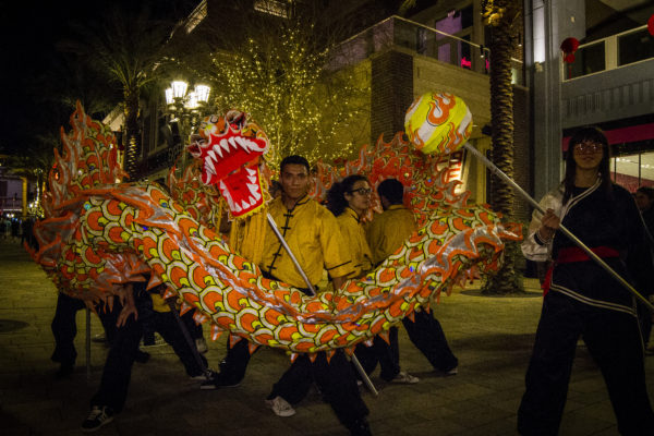 2015 Spring Festival - Dragon Dance
