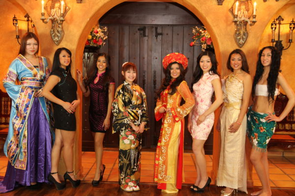 Miss AAPI Contestants - 2013 CNY Event