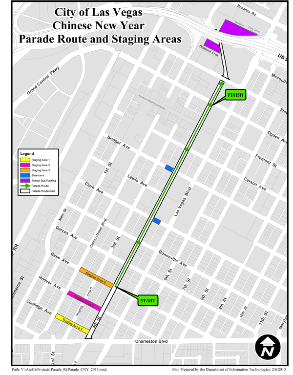 webParade Route Map