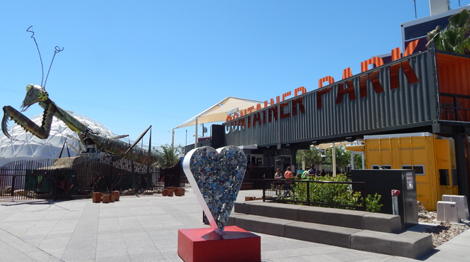 Experience Downtown Container Park,
