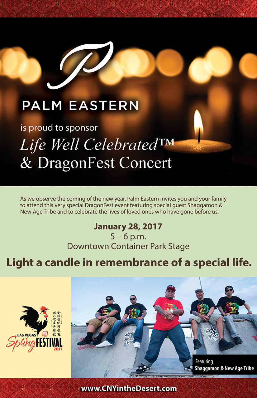 PALM Eastern by Life Well Celebrated & DragonFest Concert